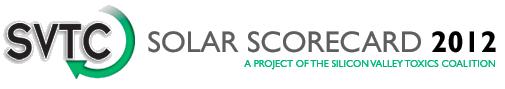 SVTC Solar Scorecard